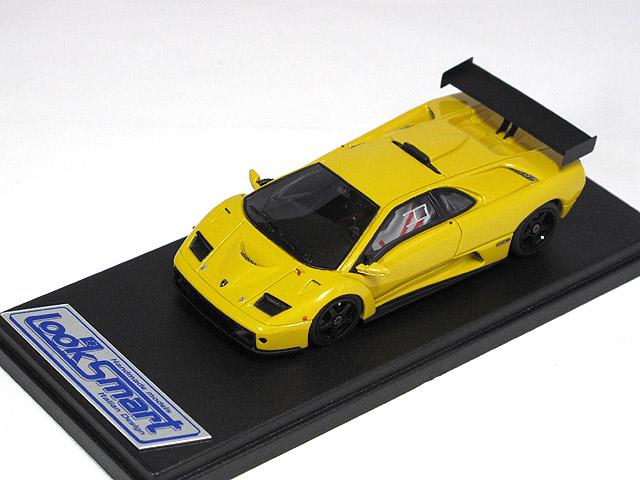 LOOKSMART(ルックスマート) 1/43完成品 LS337A ランボルギーニ ディアブロ GTR 1999 Met.Yellow