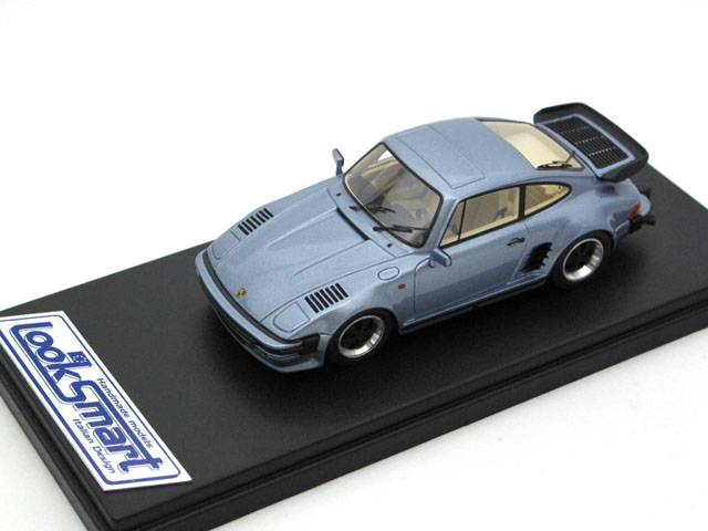 LOOKSMART(ルックスマート) 1/43完成品 LS362B ポルシェ 911 Turbo Flatnose Light Met Blue
