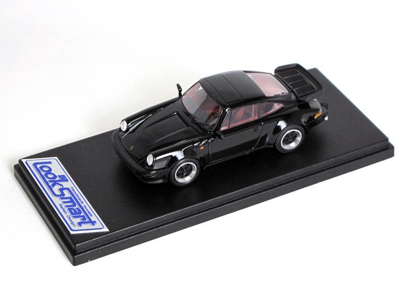 LOOKSMART(ルックスマート) 1/43完成品 LS201B ポルシェ 911 Turbo 1989 Solid Black 100台限定