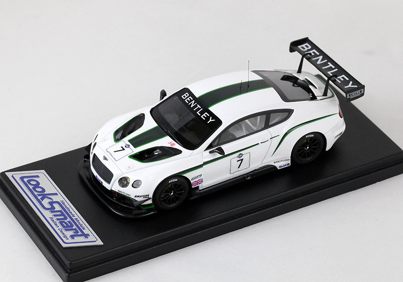 LOOKSMART(ルックスマート) 1/43完成品 LSBT04 ベントレー Continental GT3 2013 12 Hours