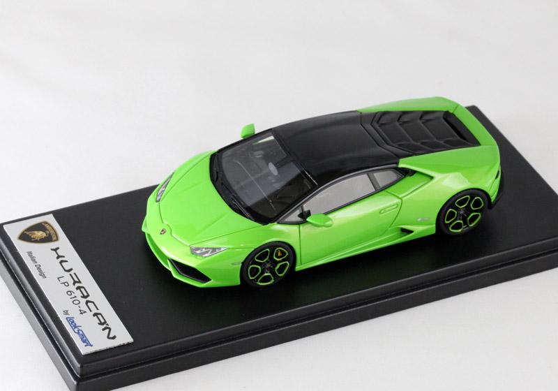 LOOKSMART(ルックスマート) 1/43完成品 LS436SE ランボルギーニ ウラカン LP610-4 Verde Mantis / Nero Aldebaran Special edition 25台限定