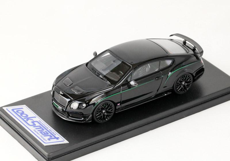 LOOKSMART(ルックスマート) 1/43完成品 LSBT08 ベントレー GT3-R Shiny Black