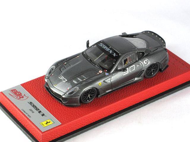 BBR 1/43完成品 BBRC042Hpre フェラーリ 599XX Valencia 2010 Grigio Reverton n.30 20台限定