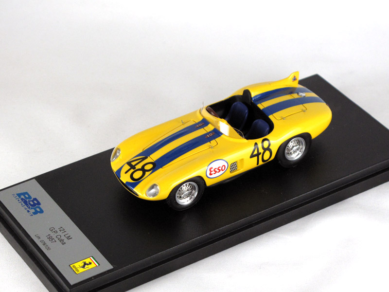 BBR 1/43完成品 149A フェラーリ 121 LM Cuba GP 1957 120台限定