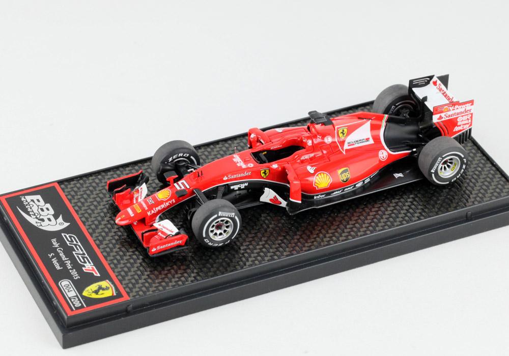 BBR 1/43完成品 C174A フェラーリ SF15-T イタリアGP 2015 S.Vettel 200台限定