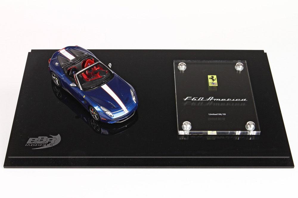 BBR 1/43完成品 BBRC182ACO フェラーリ F60 America Blue Nart 10台限定