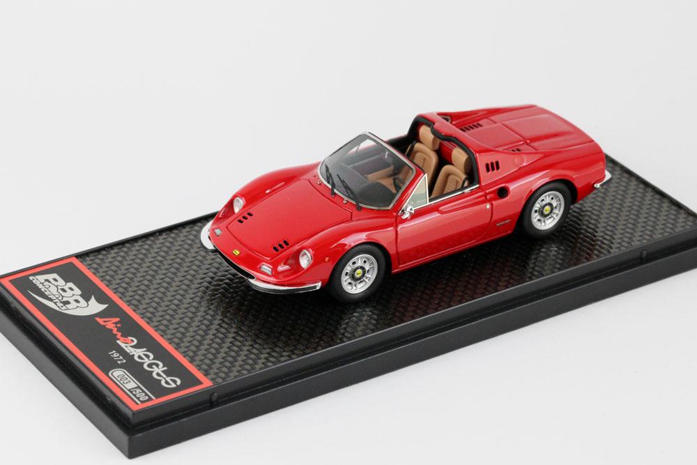 BBR 1/43完成品 BBRC054A フェラーリ ディノ 246 GTS 1972 Red 500台限定