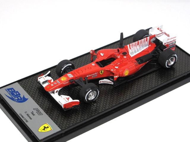 BBR 1/43完成品 BBRC041TEST フェラーリ F10 バーレーンGP 2010 TEST F.Alonso 50台限定