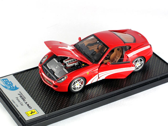 BBR 1/43完成品 BBRC047A フェラーリ 599GTB Fiorano Puma 2010 Red 39台限定