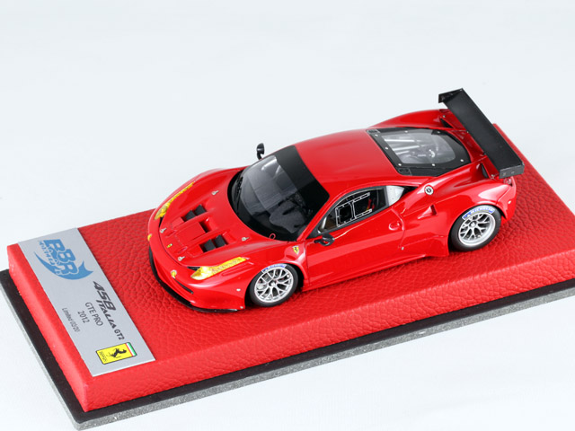 BBR 1/43完成品 BBRC102Rac フェラーリ 458 Italia GT2 GTE Pro 2012 Rosso Corsa 20台限定