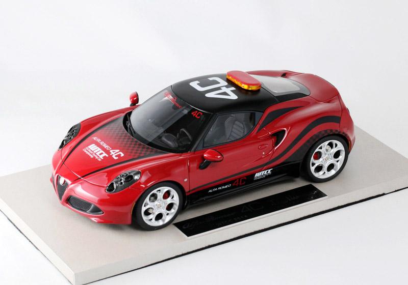 BBR /TOPMARQUES 1/18完成品 TOP11 アルファロメオ 4C Safety Car WTCC