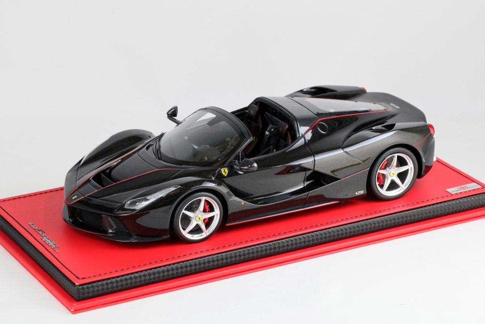 MRコレクション FER20A 1/18 ラ・フェラーリ アペルタ Nero Daytona(ブラックメタリック)