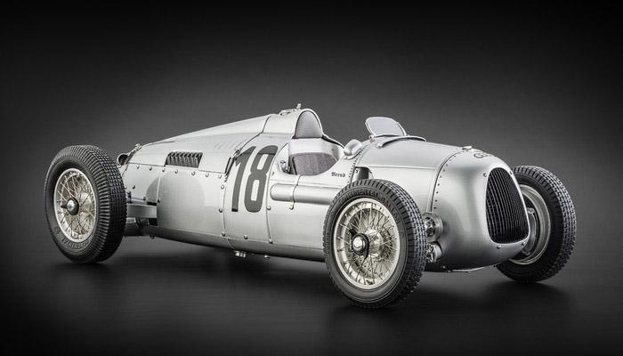 CMC 1/12完成品 C008 アウトユニオン Type C Rosemeyer Nurburgring #18 1937 300台限定
