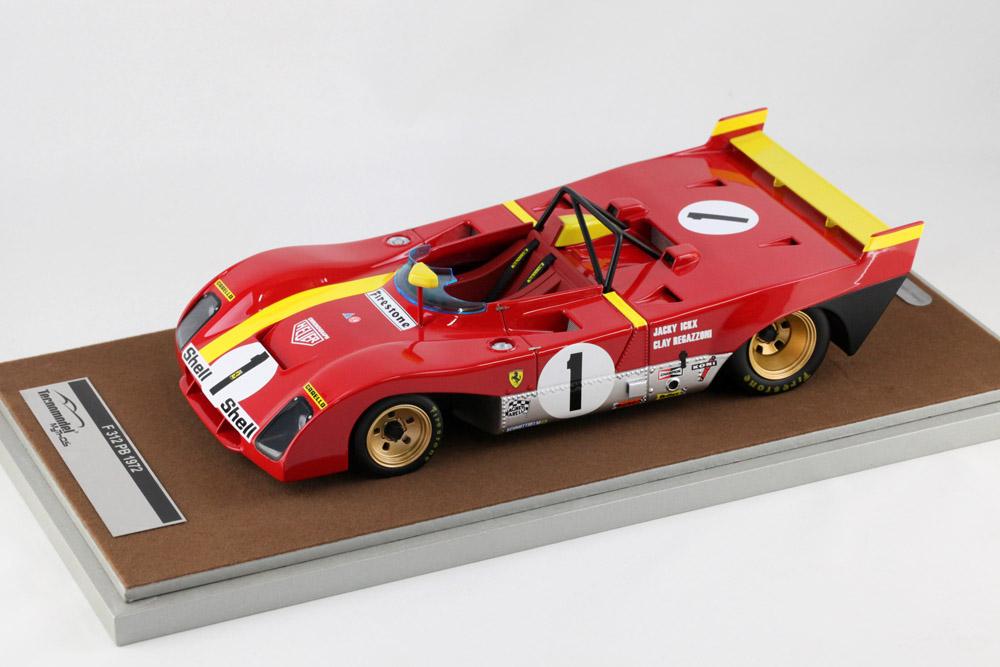 Tecno Model TM1862C 1/18 フェラーリ 312 PB モンツァ 1000km 1972 優勝車 #1 J.Ickx/C.Regazzoni