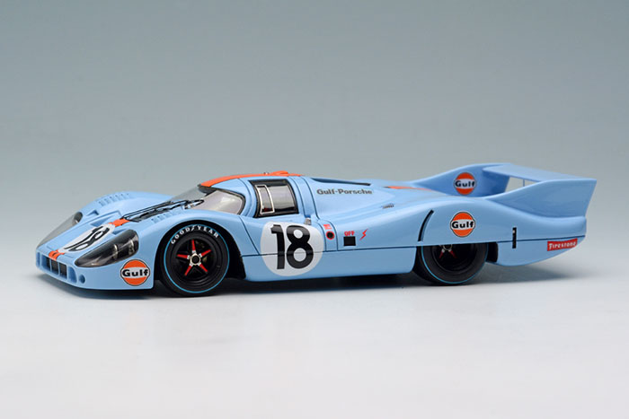 VISION(ヴィジョン) 1/43完成品 VM140B ポルシェ 917LH J.W.Automotive Engineerling Le Mans 1971 No.18