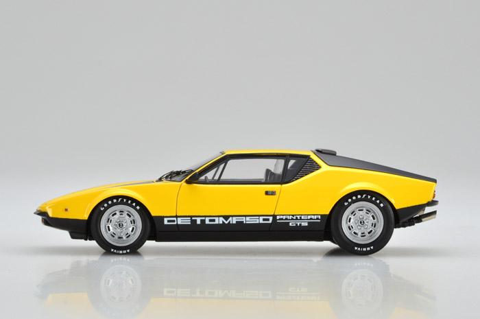 VISION(ヴィジョン) 1/43完成品 VM063B デ・トマソ パンテーラ GTS 1973 イエローレッド/ブラック