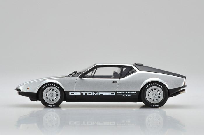 VISION(ヴィジョン) 1/43完成品 VM063F デ・トマソ パンテーラ GTS 1973 シルバー/ブラック