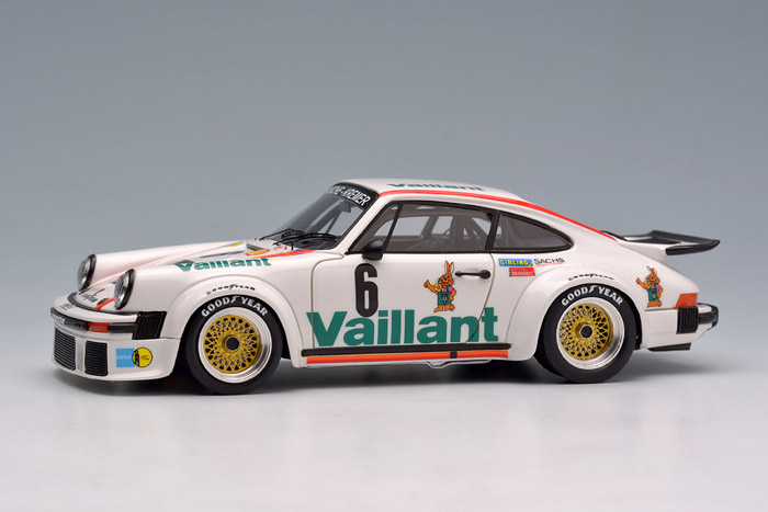 EIDOLON(アイドロン) 1/43完成品 EM295B ポルシェ 934 Vaillant KREMER European GT Championship Norisring 1976