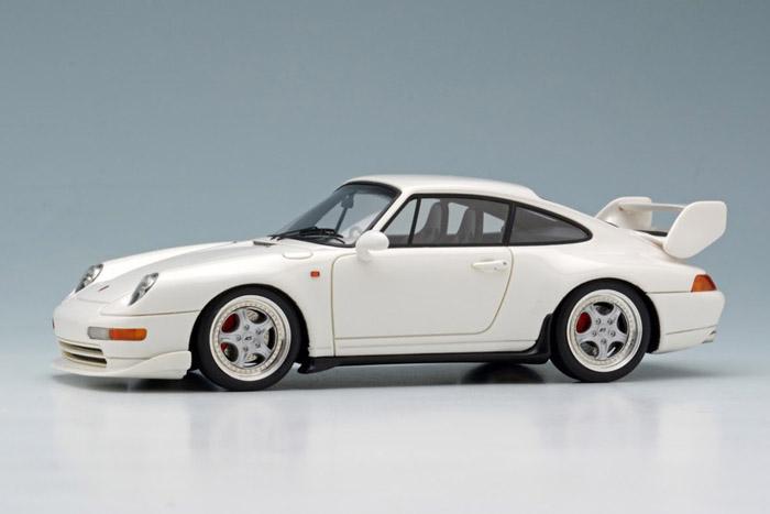 VISION(ヴィジョン) 1/43完成品 VM096D ポルシェ 911(993) Carrera RS 1995 (日本仕様) ホワイト