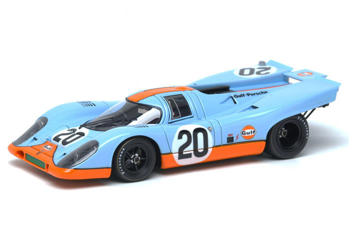 VISION(ヴィジョン) 1/43完成品 VM006A ポルシェ 917K Gulf Racing Le Mans 1970 No.20 Jo Siffert - Brian Redman