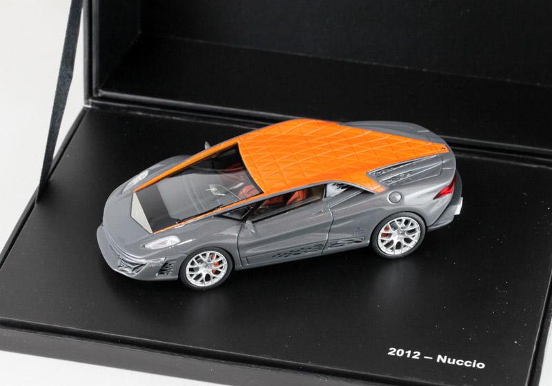 La Mini Miniera MMEBT02 1/43完成品 ヌッツィオ Bertone 2012
