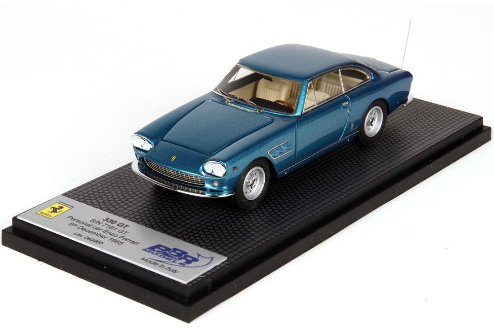 BBR 1/43完成品 CAR40EF1 フェラーリ 330 GT 2+2 SN 7161 GT Personal car Enzo Ferrari 200台限定