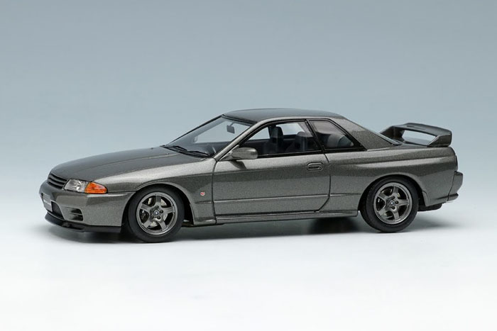 EIDOLON(アイドロン) 1/43完成品 EM364H ニッサン スカイライン GT-R (BNR32) 1991 ガングレーメタリック 限定32台