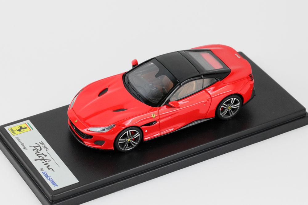 LOOKSMART LS480G フェラーリ ポルトフィーノ Rosso Scuderia / Nero DS Roof(ブラックルーフ)