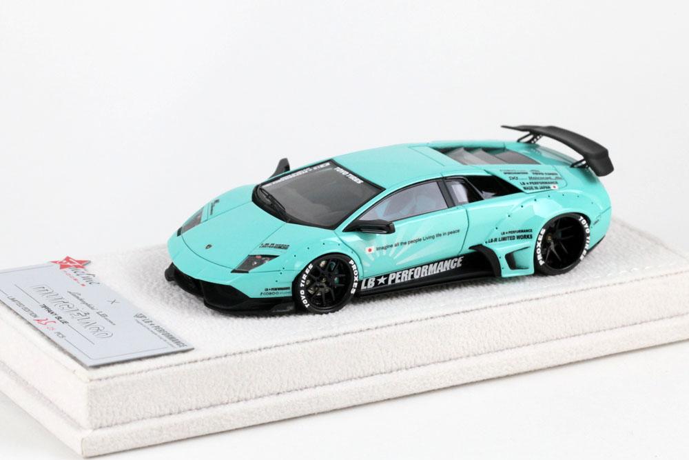 FuelMe Model FM43003LM-C 1/43完成品 LB Performance ランボルギーニ LB WORKS ムルシエラゴ Tiffany Blue 25台限定