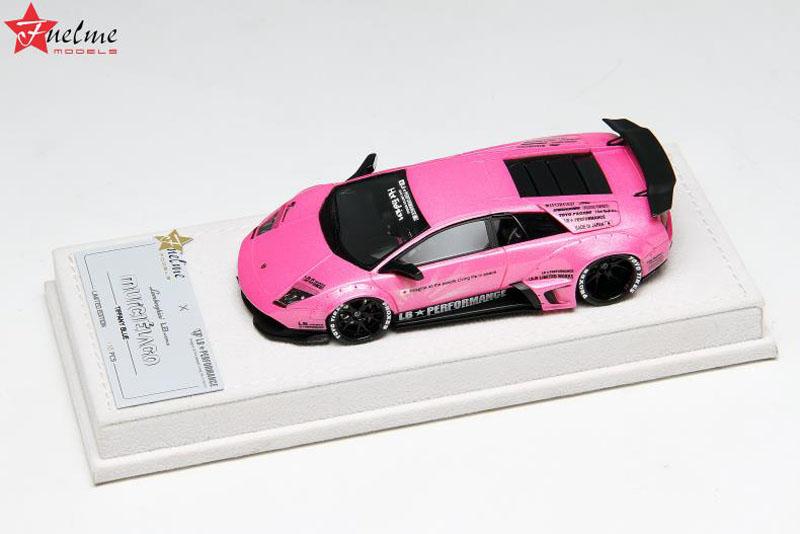 FuelMe Model FM43003LM-F 1/43完成品 LB Performance ランボルギーニ LB WORKS ムルシエラゴ Pearl Pink 20台限定