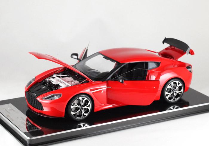 FrontiArt/フロンティアート 1/18完成品 アストンマーティン V12 ザガート フル開閉 レッド 150台限定