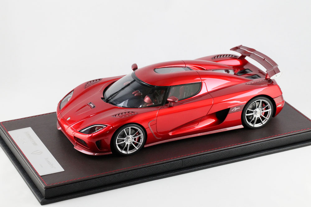 FrontiArt/フロンティアート 1/18完成品 Koenigsegg Agera R Candy Apple Red