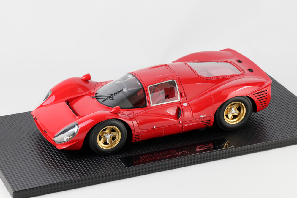 TOPMARQUES /GP replicas 1/18完成品 フェラーリ 330 P4 レッド