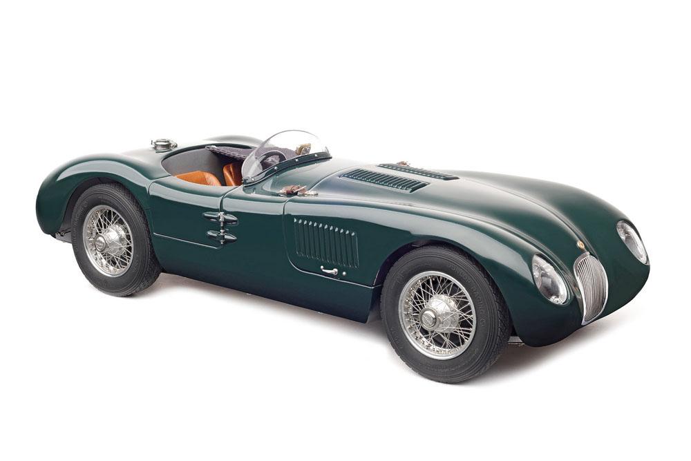 CMC 1/18完成品 M191 ジャガー C-Type 1952 British Racing Green