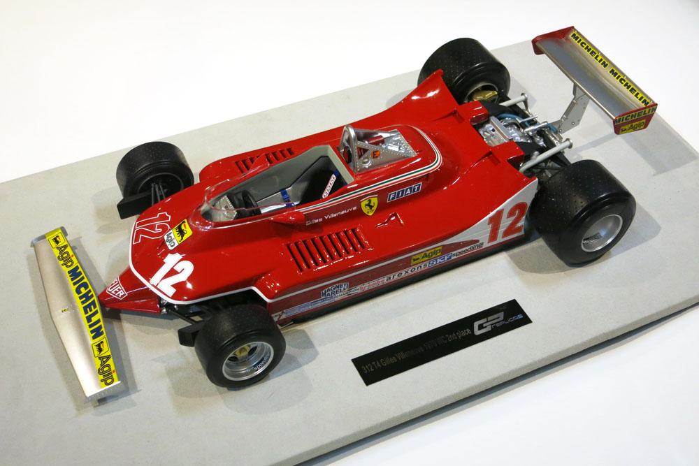TOPMARQUES /GP replicas 1/12完成品 フェラーリ 312T4 1979 G.ビルヌーブ No.12