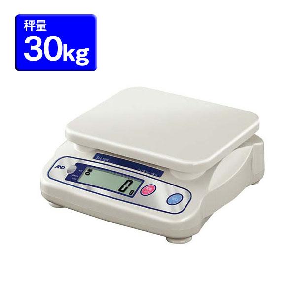 送料無料 A&D 上皿デジタルはかりSH 30kg BHK8306[スケール/秤/量り/計量]【TC】【en】