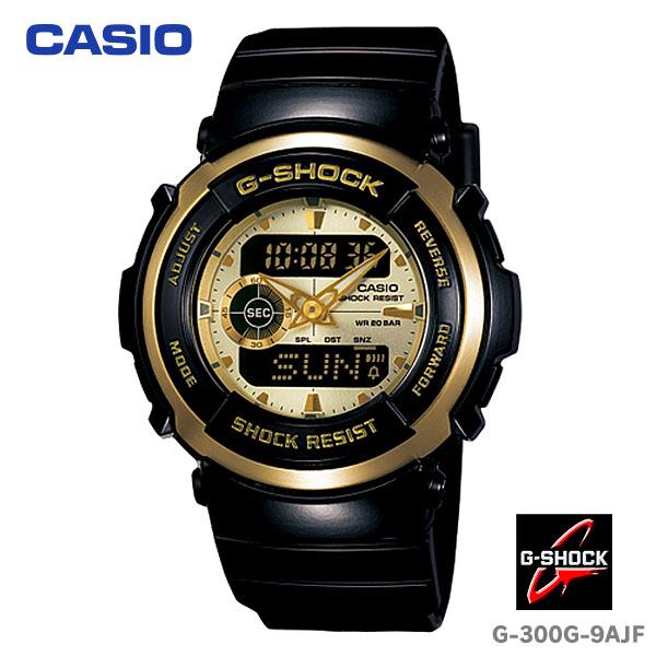 送料無料 CASIO〔カシオ〕ジーショック 腕時計 G-SHOCK G-300G-9AJF【D】[CAWT]
