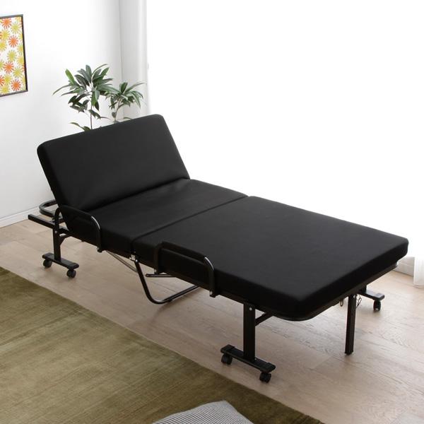 高反発マットレスの折りたたみベッド