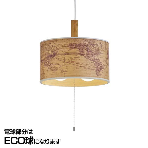 送料無料 Jorden-wood- (ユーデン-ウッド-) 2灯ペンダントライト LT-9528 蛍光灯球【B】【TC】【NGL】【天井照明 デザイン照明 アンティーク】