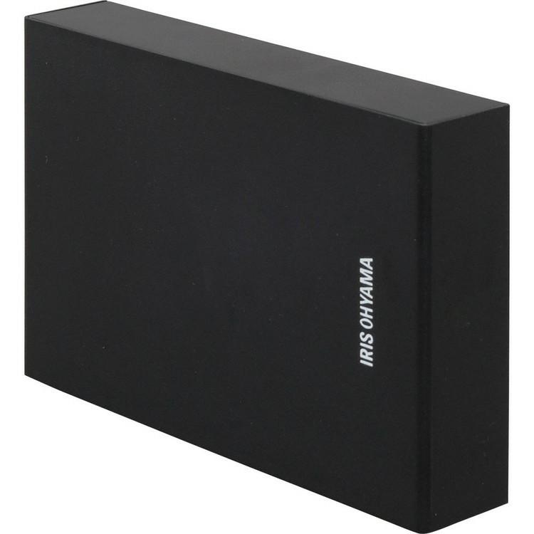 【2個セット】テレビ録画用 外付けハードディスク 4TB HD-IR4-V1 ブラック  ハードディスク HDD 外付け テレビ 録画用 録画 縦置き 横置き 静音 コンパクト シンプル LUCA ルカ レコーダー USB 連動 アイリスオーヤマ [cpir]
