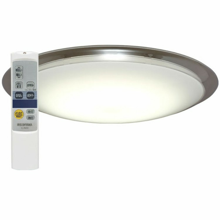 LEDシーリングライト 6.0 デザインフレームタイプ 12畳 調光 AIスピーカー CL12D-6.0AIT メタルサーキット 明かり 灯り 寝室 照明 照明器具 ライト 省エネ 節電 スマートスピーカー対応 GoogleHome AmazonEcho 調光 アイリスオーヤマ  [cpir]iris60th