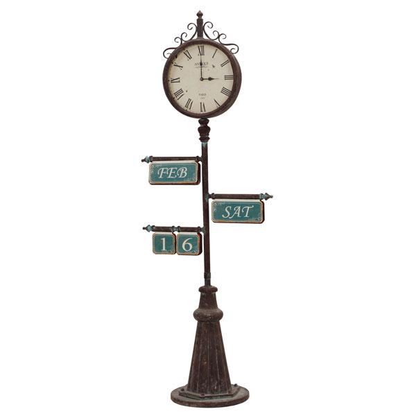 【完売御礼】 送料無料 【TD】時計 ZK-2089置物 インテリア 雑貨 玄関 オブジェ【HH】【代引不可】【取り寄せ品】