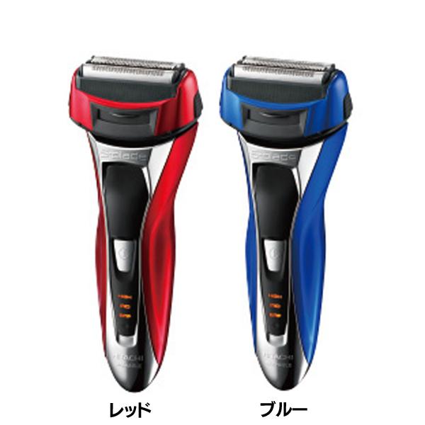 送料無料 日立〔HITACHI〕 エスブレードソニック RM-FL10W-R・RM-FL10W-A【髭剃り シェーバー 防水設計 3Dヘッド 4枚刃】【D】