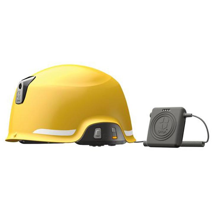 送料無料 【防災 ヘルメット】ヘルメット型防災用無線機【無線】 SAGA-D-B【TC】【MSC】