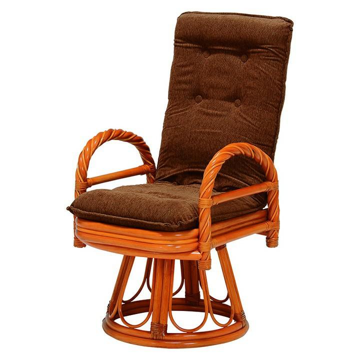 ギア回転座椅子 RZ-912送料無料 座椅子 椅子 イス いす 籐製 ラタン おしゃれ 座椅子いす 座椅子おしゃれ 椅子いす いす座椅子 おしゃれ座椅子 いす椅子 【HH】【TD】【代引不可】【取り寄せ品】