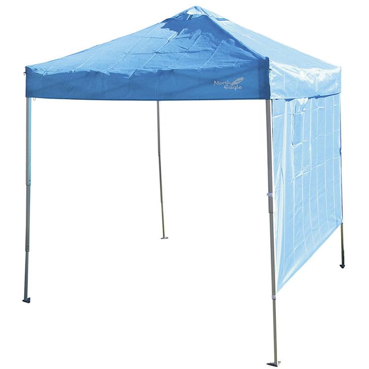 アルミコンパクトキャノピー3段 200 NE1222送料無料 タープ 3段階 テント サンシェード 屋外 ノースイーグル アウトドア シンプル キャンプ ノースイーグル 【D】