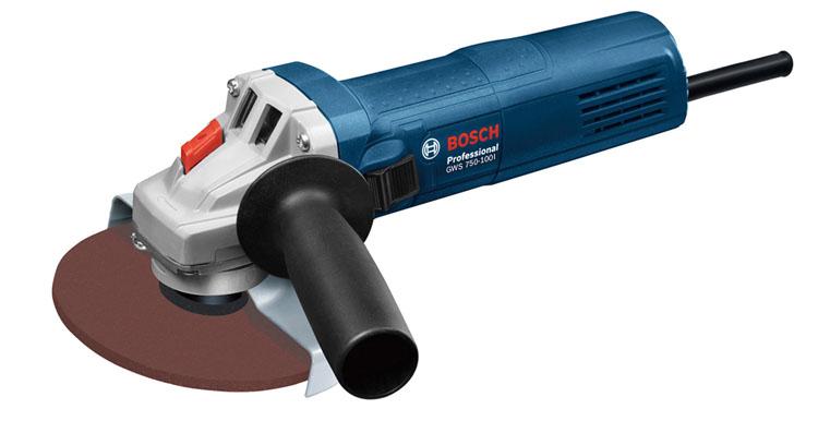 ディスクグラインダー BL GWS750-100I送料無料 ボッシュ ディスクグラインダー グラインダー 電動工具 工具 ブルー BOSCH 【D】
