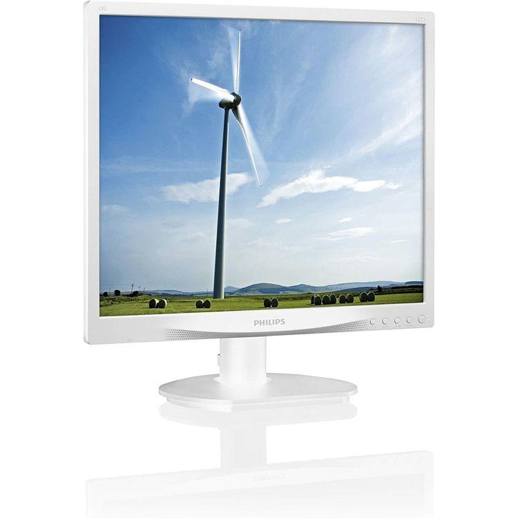 19型液晶ディスプレイ ホワイト 5年間フル保証 19S4QAW/11送料無料 モニター フィリップス パソコン PC機器 PHILIPS(ディスプレイ) 【D】
