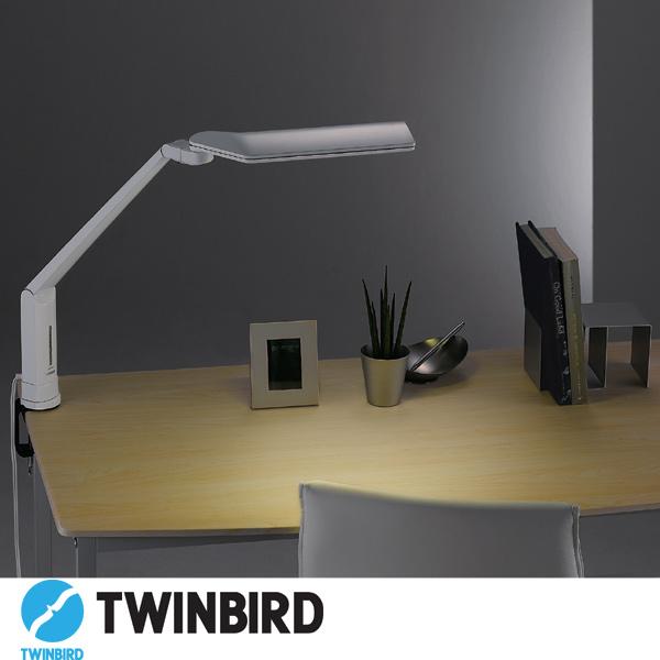送料無料 TWINBIRD ツインバード LEDクランプ式デスクライト LE-H635W【TC】【家電】