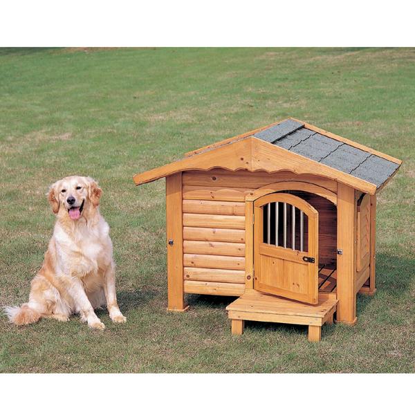 送料無料 ロッジ犬舎 RK-950 ブラウン アイリスオーヤマ 【ペット用品・犬】[PTYS]